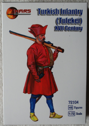 Mars 1/72 MAR72104 Turkish Infantry (Tufekei) (17th Century)